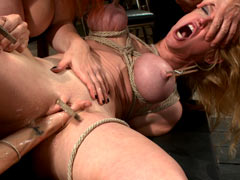 Group BDSM orgy